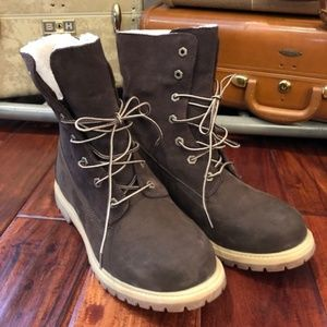 Timberland fur lined women's boots